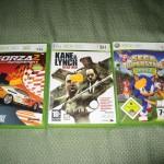 Kane&Lynch, Sega Superstars Tennis y Forza Motorsport 2