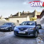 Mazda 3 Kendo en Carcassonne